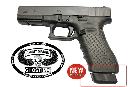 Ghost Plus 3 Magazine Plate for Glock Gen 1-5