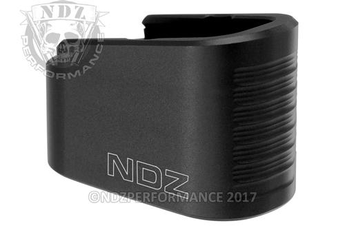 NDZ Black +2 Magazine Plate Extension for Glock 42 (*LZ)