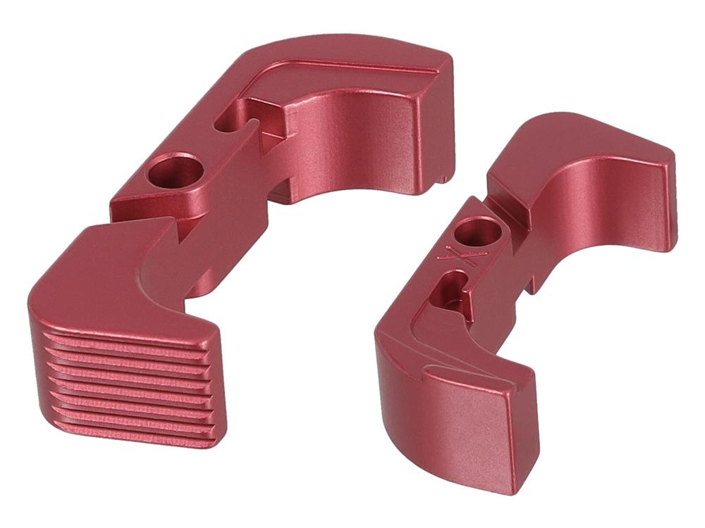 Strike Industries Aluminum Extended Mag Release for Gen4//5 Glock 17,19,22 Black