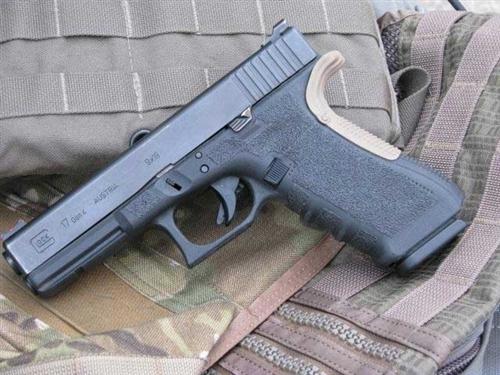 Grip Force FDE Beavertail Kit Backstraps for Glock Gen 4-5