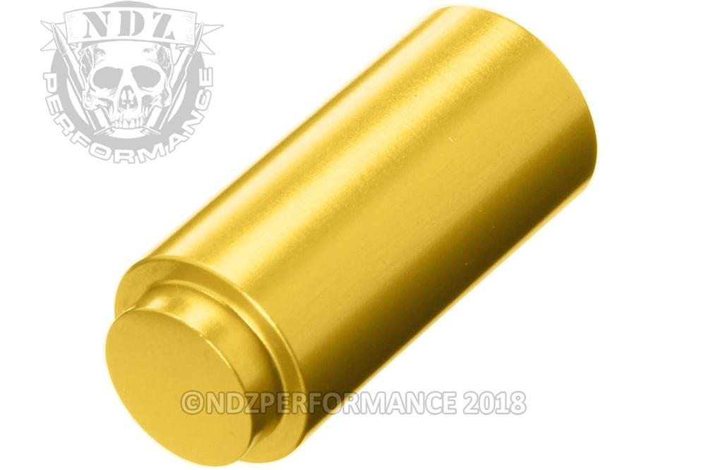 NDZ Recoil Spring Plug for 1911 Government & Commander & Clones Gold