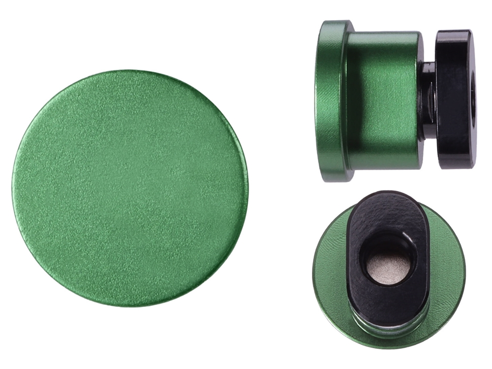NDZ Green Magazine Release Button for AR-10, AR-15, SW 15-22 (*LZ)
