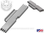 NDZ Stainless Extended Slide Lock Lever for SW SD VE 9 40