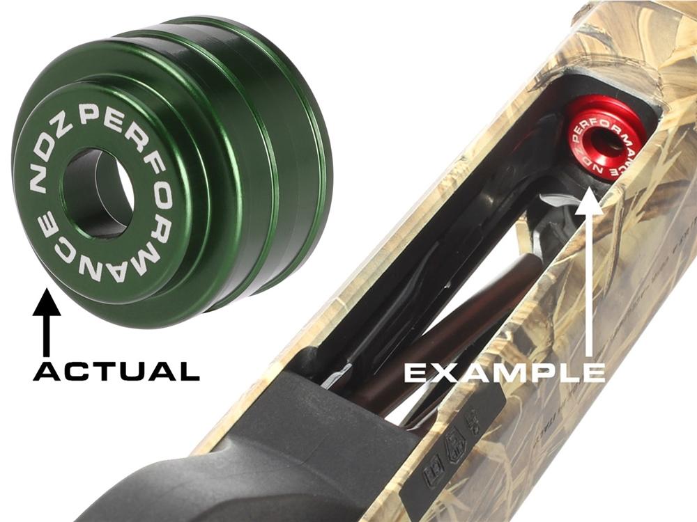 FOR BENELLI M2 M4 12GA ONLY NDZ HIGH VISIBILITY LOW-DRAG SHOTGUN FOLLOWER  GREEN