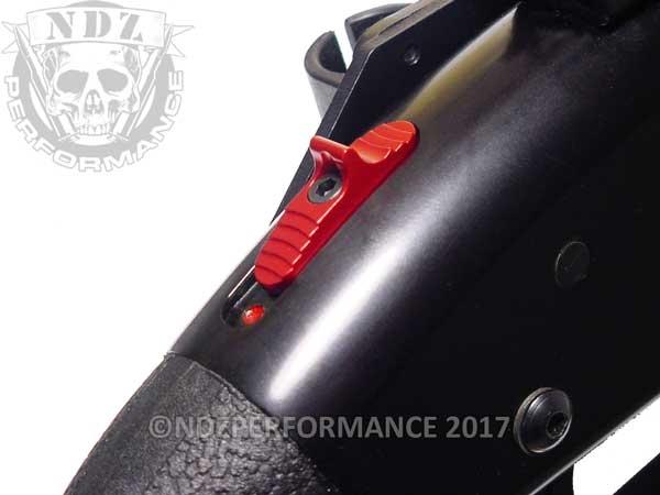 NDZ Enhanced Tactical Slide Safety for Mossberg Shotgun 500 590 835 930 935  Shockwave Black