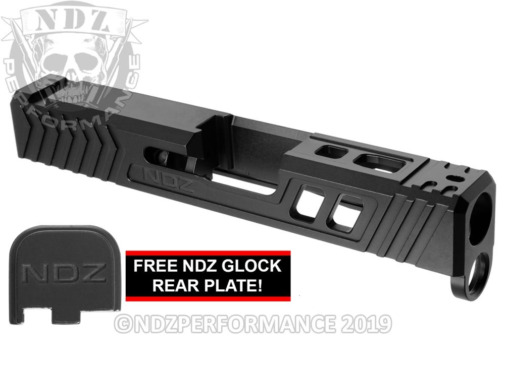 NDZ43 T R O I  Slide Upgrade For Glock 43 43X Armorer Black Cerakote