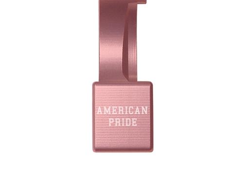 Custom Text NDZ Performance Ruger 10/22 Magazine Release Lever Short Pink