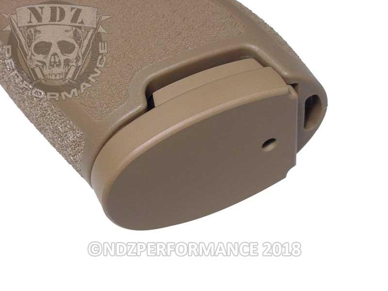 NDZ Magazine Floor Base Plate for Sig Sauer P320 P250  45 Cerakote FDE