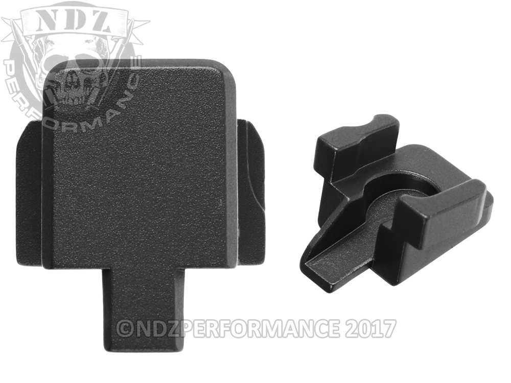 NDZ Rear Slide Plate for Sig P320 9MM  357  40  45 Black (*LZ)