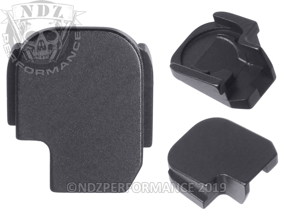 NDZ Rear Slide Plate for Sig P365 P365 XL 9MM Black (*LZ)
