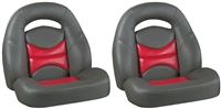 204 Bass Boat Bucket Seats - Sold in Pairs Only