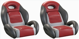 GT2 Bass Boat Bucket Seats-Sold In Pairs Only