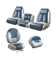 Pro Max Bass Boat Seats Complete Set