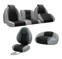 TZX Bass Boat Seats Complete Set