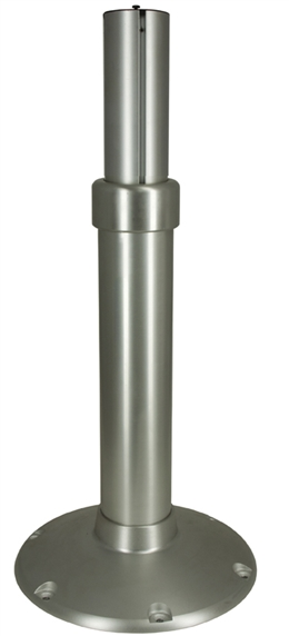 "Heavy Duty Mainstay Air Ride Pedestal with 12"" Base - 2 7/8"" Inner Post"