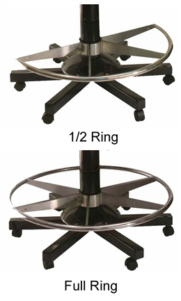 Pedestal Ring Footrest