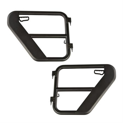 Rugged Ridge Rear Tube Doors For 2018+ Jeep Wrangler JL 2 and 4 Doors Unlimited Models