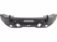 Rugged Ridge Fortis HD Bumper, Stubby, Front for 07-18 JK / 18-19 JL / 2020 JT
