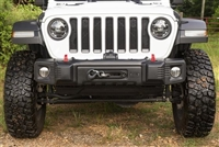 Rugged Ridge Spartacus Stubby Front Bumper (Black)
