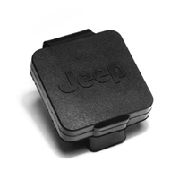 Rugged Ridge Rear Hitch Cover With Jeep Logo 2inch Reciever