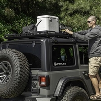Rugged Ridge Roof Rack with Basket for 18+ Jeep Wrangler JL 4 Door Models