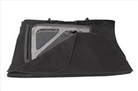 Rugged Ridge Window Storage Sport Bar Bag for 07-18 Jeep Wrangler JKU 4 Door Models