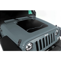Rugged Ridge Hood Decal, Barbed Wire; 07-18 Jeep Wrangler JK