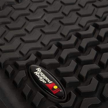 Rugged Ridge Front Floor Liner For