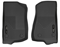Husky Liners WeatherBeater Front Floor Liners (Black) for 20+ Jeep Gladiator JT