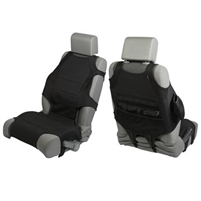 Rugged Ridge Seat Protector Vest Kit, Neoprene, Black; 07-18 Jeep Wrangler JK/JL