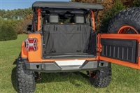Rugged Ridge C3 Cargo Cover (Black) for 18+ Jeep Wrangler JL 2 Door Models