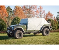 Rugged Ridge Weatherlite Cab Cover (Gray) for 07-19 Jeep Wrangler JK/JL, 4 Door Models