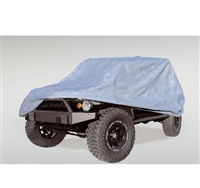 Rugged Ridge Heavy Duty 3 Layer Full Car Cover 2004-06 TJ Wrangler Unlimited