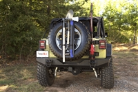 Rugged Ridge Spare Tire Tool Rack System For Universal Applications