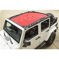 Rugged Ridge Eclipse Sun Shade Top (Red) for Jeep Wrangler JK 4 Door Models