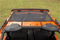 Rugged Ridge Front Eclipse Mesh Sun Shade for 18-19 Jeep Wrangler JL 2-Door