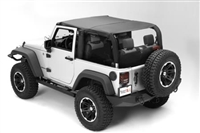 Rugged Ridge Montana Pocket Island Topper (Black Diamond) for 10-18 Jeep Wrangler JK 2 Door Models
