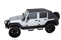 Rampage Products TrailView Fold-Back Soft Top, for 2007+ Jeep Wrangler JK 2-Door