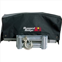 Rugged Ridge Winch Cover, 8500/10500/12500 winches