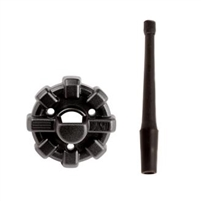 Rugged Ridge Elite Antenna Base allows you to modernize the appearance of one of the most over-looked parts of your Jeep- the antenna! Featuring the same bold styling you've come to expect from our Elite line of accessories,