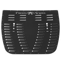 Poison Spyder Hood Louver (Black) for 18+ Jeep Wrangler JL and 20+ Gladiator JT