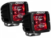 Rigid Industries Radiance Red Back-Light Pods (Black)