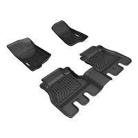 Aries Automotive StyleGuard XD Floor Liners for 18+ Jeep Wrangler JL 4 Door Models
