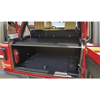 Tuffy Deluxe Security Deck Enclosure For 18+ Jeep Wrangler JL 4 Door Models