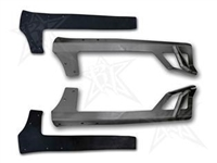 Rigid Industries 50 Inch Upper Windshield Mount (Black ) for JK 2 and 4 Door Models