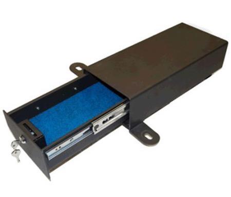 JK Bestop 42642-01 Underseat Locking Storage Box Fits 07-18 Wrangler