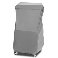Bestop Rolling Door Storage Cart with Charcoal Cover for 87 - 18 Jeep Wrangler 2 and 4 Door Models