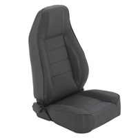 Smittybilt Factory-Style Recliner (Black) for 1976+ Jeep Wrangler CJ Series YJ, TJ, and JK Models