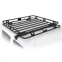 Smittybilt Defender Series Roof Rack Basket 4.5' X 4.5' One Piece Welded