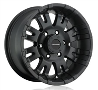 Pro Comp 01 Series Raven, 17x9 Wheel with 5 on 5 Bolt Pattern